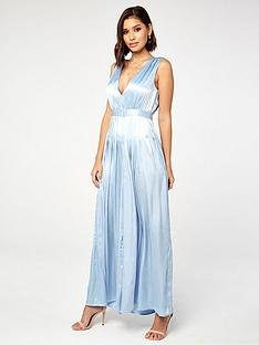 the-girl-code-satin-pleat-jumpsuit-blue