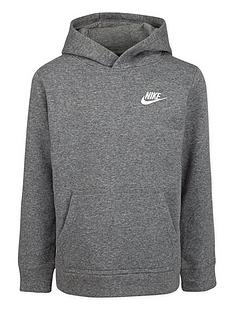 nike-younger-child-club-overhead-hoodie-dark-grey