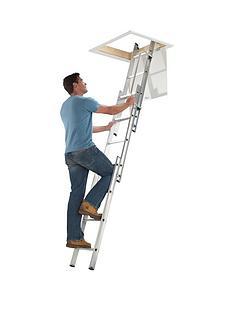 abru-section-aluminum-loft-ladder