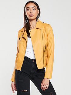 v-by-very-faux-leather-biker-jacket-mustard