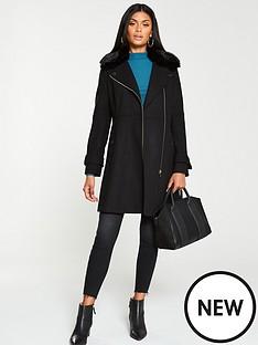 v-by-very-fauxnbspfur-trim-asymmetric-zip-coat-black