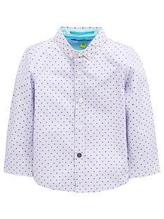 42abb5c72 Baker by Ted Baker Toddler Boys Geo Long Sleeve Shirt