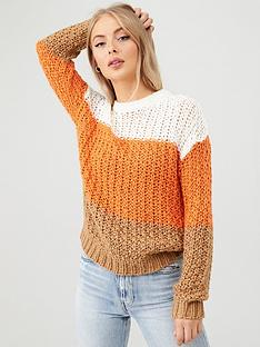 v-by-very-colour-block-knit-jumper-multi