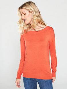 v-by-very-boat-neck-jumper-rust