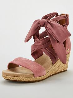 ugg-trina-tie-wedges-pink