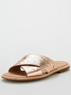2e7e36c6aa5 UGG Joni Metallic Sandals - Rose Gold