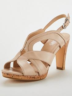 bf5af4192ec Wallis Platform Heel Cover Sandal
