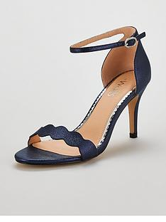 wallis-scalloped-barely-there-heeled-sandal-shoes--nbspnavy