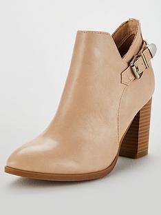 wallis-anisha-buckle-detail-block-heeled-ankle-boots-tan