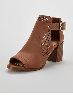 wallis-aileen-laser-cut-out-heeled-ankle-boots-brown