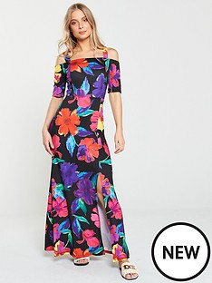 v-by-very-cold-shoulder-maxi-dress-floral-print