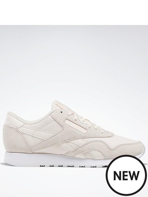 Reebok Classic Nylon - Beige/White