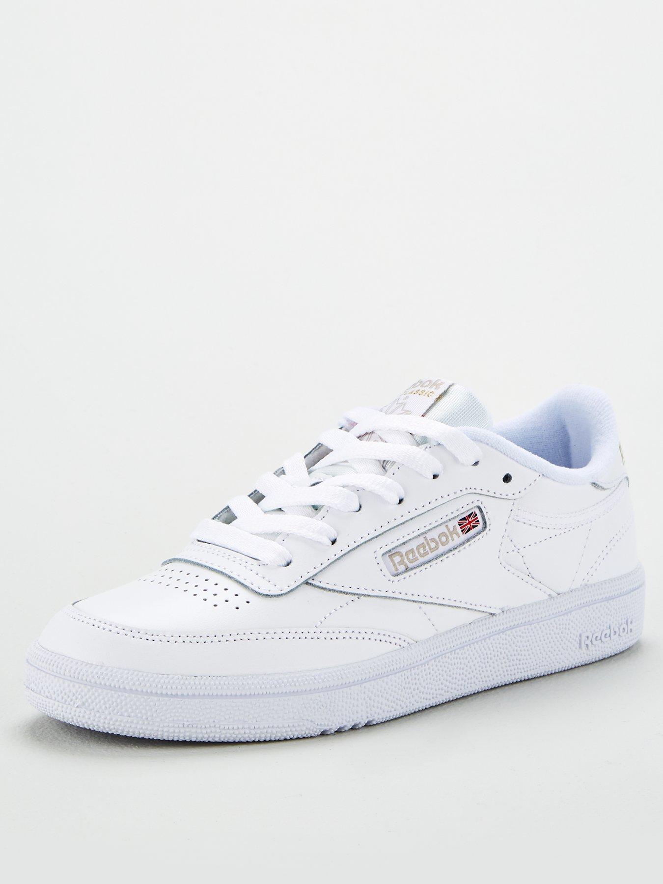 reebok club c 85 all white
