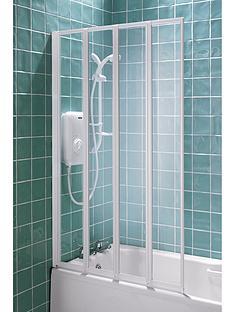 Aqualux 4 Fold Shower Screen