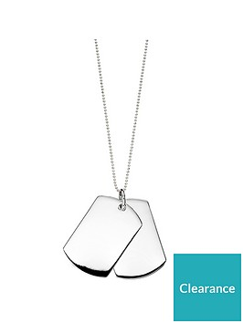 the-love-silver-collection-personalised-sterling-silver-mens-double-dog-tag-pendant-necklace