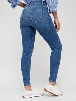 d2daa3bbc6a2ce V by Very Shaping Skinny Jeans - Mid Wash | littlewoodsireland.ie