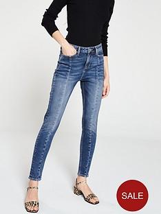 v-by-very-ella-seam-detail-skinny-jean-mid-wash