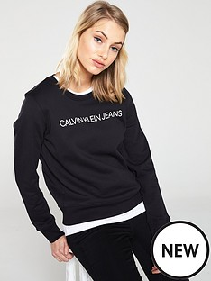 calvin-klein-jeans-institutional-logo-sweat-black