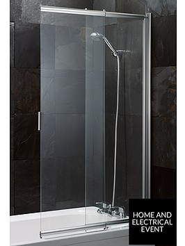 aqualux-sliding-bath-shower-screen