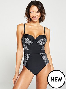 v-by-very-shapewear-underwired-lace-panelled-swimsuit-black