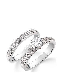 love-diamond-9ct-white-gold-75-point-diamond-total-bridal-set