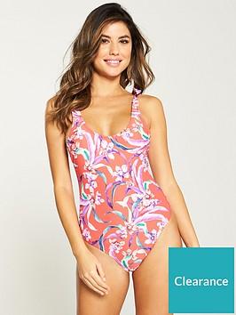 v-by-very-tie-shoulder-scoop-back-swimsuit-red-floral