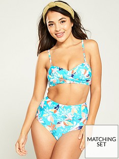 v-by-very-mix-amp-match-twist-bandeau-bikini-top-aqua-print