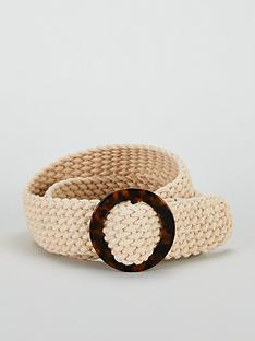 v-by-very-natural-weave-tort-buckle-belt