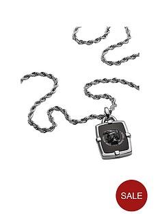 diesel-diesel-black-agate-logo-pendant-and-stainless-steel-mens-neckwear