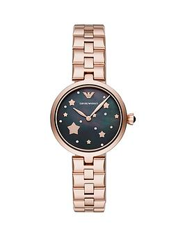 emporio-armani-emporio-armaninbspblack-and-rose-gold-star-detail-dial-rose-gold-stainless-steel-bracelet-ladies-watch