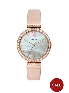 fossil-fossil-madeline-mother-of-pearl-crystal-set-and-rose-gold-dial-nude-leather-strap-ladies-watch