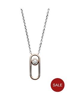 skagen-skagen-elin-rose-gold-and-cubic-zirconia-pendent-ladies-necklace