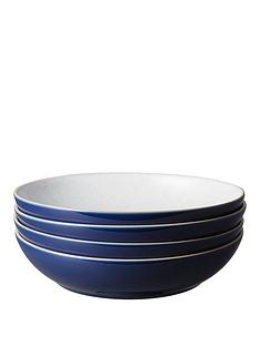 denby-elements-4-piece-pasta-bowl-set-ndash-dark-blue