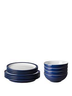 denby-elements-12-piece-dinner-service-set-dark-blue