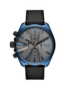 diesel-diesel-ms9-grey-and-blue-detail-chronograph-dial-grey-silicone-and-nylon-strap-mens-watch