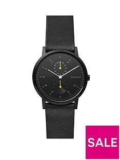 skagen-skagen-black-and-yellow-detail-dial-black-leather-strap-mens-watch
