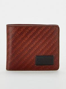 superdry-badgemannbspwallet-brown