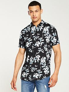 v-by-very-floral-print-shirt-navy