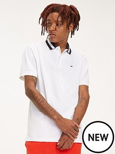 tommy-jeans-tipped-collar-polo-shirt-white