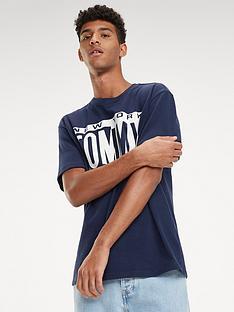 3cd34b2ce Tommy Jeans Box Logo T-Shirt