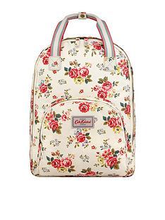 cath-kidston-field-rose-multi-pocket-backpack-stone