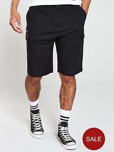 v-by-very-cargo-shorts-black