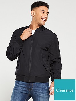 very-man-padded-bomber-jacket-black