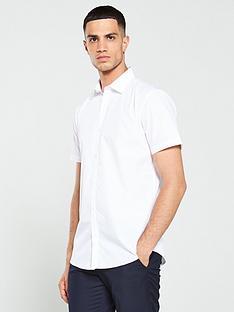 v-by-very-short-sleeved-easycare-shirt-white
