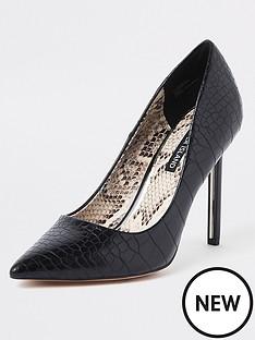 f2c2d79980 4 Inch | Formal | River island | Heels | Shoes & boots | Women | www ...