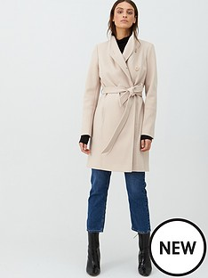 v-by-very-funnel-neck-coat-oatmeal