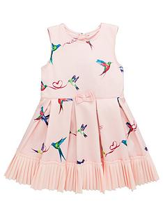 31801437f Baker by Ted Baker Toddler Girls Scuba Prom Dress - Pale Pink