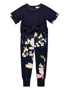 6c8c2d612ff0 Baker by Ted Baker Girls Harmony Jumpsuit - Navy