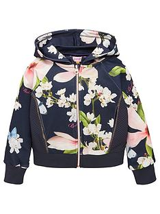 7ed74a7488e2 Baker by Ted Baker Girls Harmony Floral Sweat Top - Light Pink