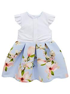 b19db5278abe8 Baker by Ted Baker Toddler Girls Harmony Mockable Dress - Light Blue
